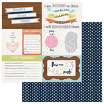 Photo Play Paper - Family Ties Collection - 12 x 12 Double Sided Paper - Family