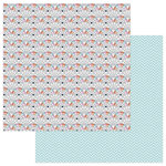 Photo Play Paper - Family Ties Collection - 12 x 12 Double Sided Paper - Fan Chart