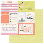 Photo Play Paper - Family Ties Collection - 12 x 12 Double Sided Paper - Girl
