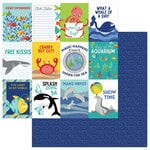 Photo Play Paper - Fish Tales Collection - 12 x 12 Double Sided Paper - Splash Zone