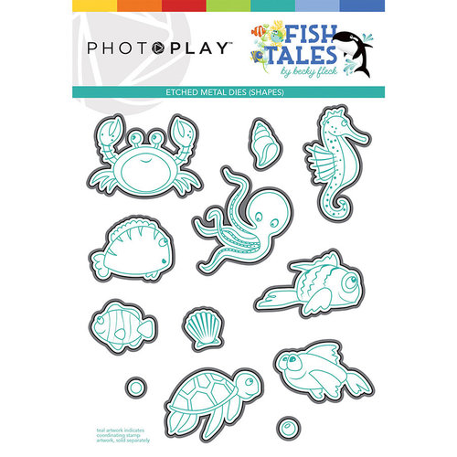 Photo Play Paper - Fish Tales Collection - Die Set