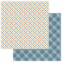 Photo Play Paper - Whiskers Collection - 12 x 12 Double Sided Paper - Pounce
