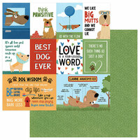 Photo Play Paper - Fetch Collection - 12 x 12 Double Sided Paper - Best Dog Ever