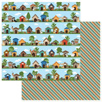Photo Play Paper - Fetch Collection - 12 x 12 Double Sided Paper - In The Dog House