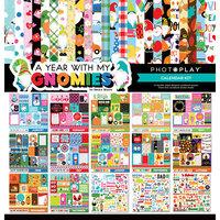 Photo Play Paper - Gnome Calendar Collection - 12 x 12 Calendar Kit