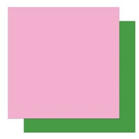 Photo Play Paper - Gnome Calendar Collection - 12 x 12 Double Sided Paper - Light Pink and Green
