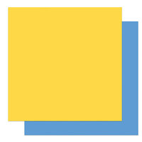 Photo Play Paper - Gnome Calendar Collection - 12 x 12 Double Sided Paper - Yellow and Blue