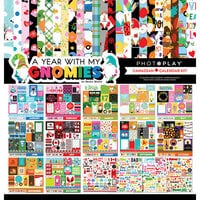 Photo Play Paper - Gnome Calendar Collection - 12 x 12 Canadian Calendar Kit