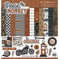 Photo Play Paper - Grease Monkey Collection - 12 x 12 Collection Pack