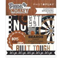 Photo Play Paper - Grease Monkey Collection - Ephemera