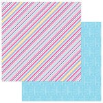 Photo Play Paper - I Love Gymnastics Collection - 12 x 12 Double Sided Paper - I Love Gymnastics