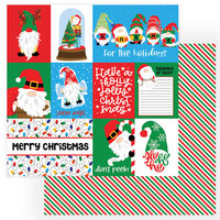 Photo Play Paper - Gnome for Christmas Collection - 12 x 12 Double Sided Paper - Don't Peek