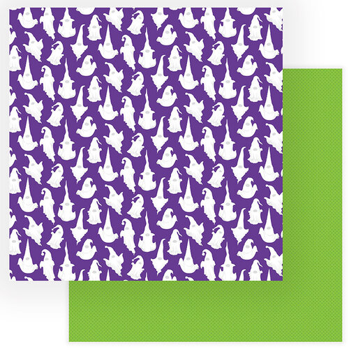 Photo Play Paper - Gnome For Halloween Collection - 12 x 12 Double Sided Paper - Goblins