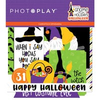 Photo Play Paper - Gnome for Halloween Collection - Ephemera