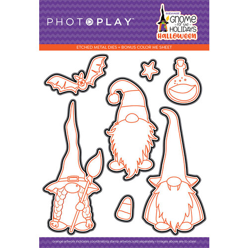 Photo Play Paper - Gnome for Halloween Collection - Etched Die Set