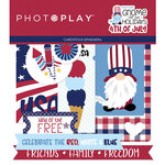 Photo Play Paper - Gnome for July 4th Collection - Ephemera