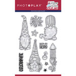 Photo Play Paper - Gnome for July 4th Collection - Clear Photopolymer Stamps