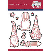 Photo Play Paper - Gnome for July 4th Collection - Etched Die Set