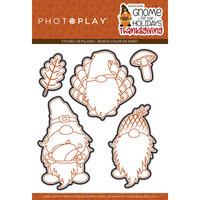 Photo Play Paper - Gnome for Thanksgiving Collection - Etched Die Set