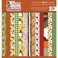Photo Play Paper - Gnome for Thanksgiving Collection - 6 x 6 Paper Pad