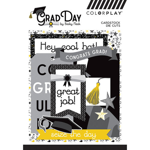 Photo Play Paper - Grad Day Collection - Ephemera