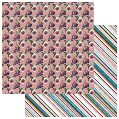 Photo Play Paper - Gypsy Rose Collection - 12 x 12 Double Sided Paper - Be Inspiring