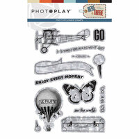 Photo Play Paper - Here and There Collection - Photopolymer Stamps