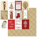 Photo Play Paper - Holiday Cheer Collection - Christmas - 12 x 12 Double Sided Paper - Ho Ho Ho