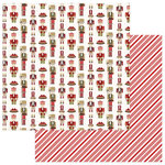 Photo Play Paper - Holiday Cheer Collection - Christmas - 12 x 12 Double Sided Paper - Nutcracker