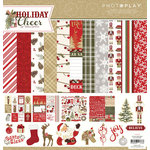 Photo Play Paper - Holiday Cheer Collection - Christmas - 12 x 12 Collection Pack