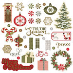 Photo Play Paper - Holiday Cheer Collection - Christmas - Ephemera