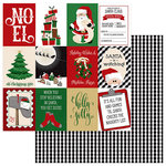 Photo Play Paper - Here Comes Santa Collection - Christmas - 12 x 12 Double Sided Paper - Holly Jolly