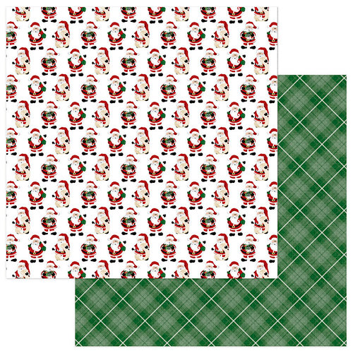 Photo Play Paper - Here Comes Santa Collection - Christmas - 12 x 12 Double Sided Paper - Santa Claus