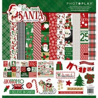 Photo Play Paper - Here Comes Santa Collection - Christmas - 12 x 12 Collection Pack