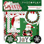 Photo Play Paper - Here Comes Santa Collection - Christmas - Ephemera