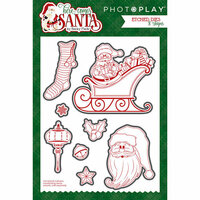 Photo Play Paper - Here Comes Santa Collection - Christmas - Die Set