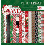Photo Play Paper - Here Comes Santa Collection - Christmas - 6 x 6 Paper Pad