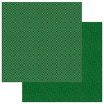 Photo Play Paper - Here Comes Santa Collection - Christmas - Solids Plus - 12 x 12 Double Sided Paper - Green