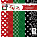 Photo Play Paper - Here Comes Santa Collection - Christmas - Solids Plus - 12 x 12 Collection Pack