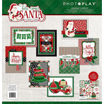 Photo Play Paper - Here Comes Santa Collection - Christmas - Card Kit