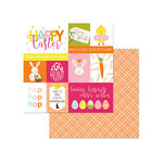Photo Play Paper - Hoppy Easter Collection - 12 x 12 Double Sided Paper - HOP