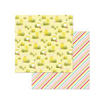 Photo Play Paper - Hoppy Easter Collection - 12 x 12 Double Sided Paper - Egg Hunt
