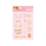 Photo Play Paper - Hoppy Easter Collection - Clear Acrylic Stamps
