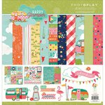 Photo Play Paper - Happy Glamper Collection - 12 x 12 Collection Pack