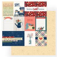 Photo Play Paper - Heart and Home Collection - 12 x 12 Double Sided Paper - Cozy