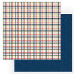 Photo Play Paper - Heart and Home Collection - 12 x 12 Double Sided Paper - Flannel
