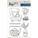 Photo Play Paper - Heart and Home Collection - Clear Photopolymer Stamps