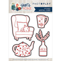Photo Play Paper - Heart and Home Collection - Dies