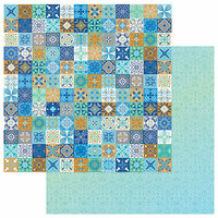 Photo Play Paper - Hanukkah Collection - 12 x 12 Double Sided Paper - Shalom