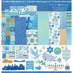 Photo Play Paper - Hanukkah Collection - 12 x 12 Collection Pack